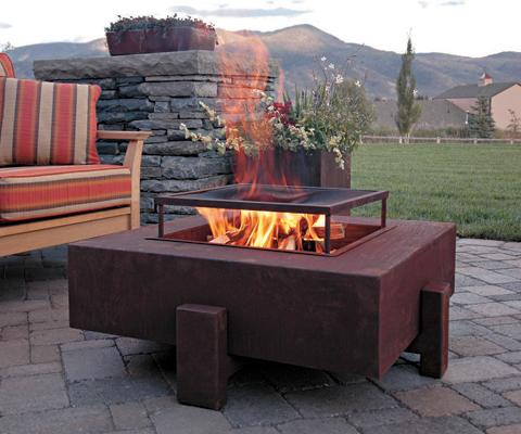 pot belly wood burning fireplace