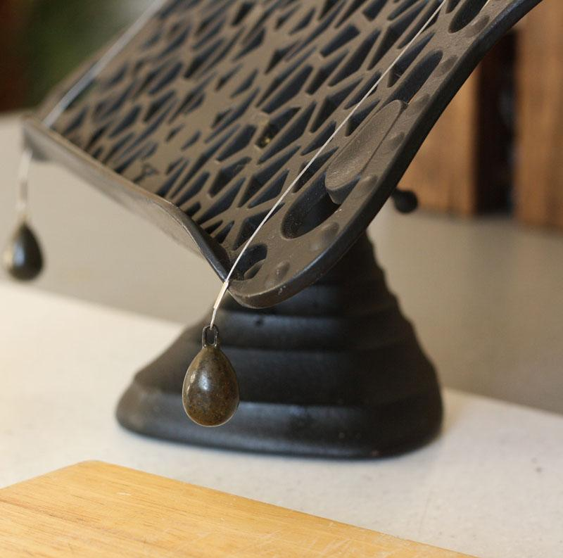 Cast Iron Cook Book Stand Black