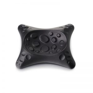 Cast iron spoon rest in black