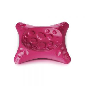 Cast Iron Spoon Rest in Pink