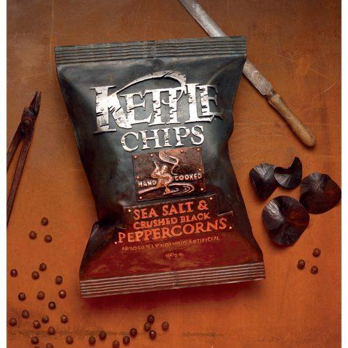 Kettle Chips Advertisment