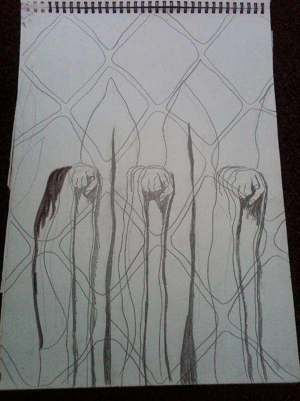 Bipolar Blacksmith Me Pencil Sketches
