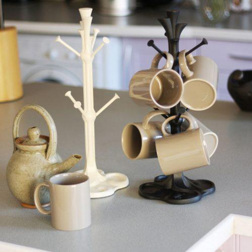 BexSimon Cast Iron Mug Tree Black