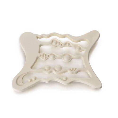 Cast Iron Trivet in Cream