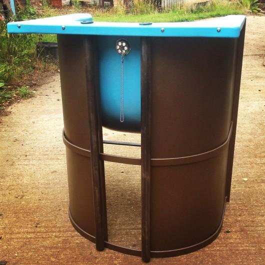 Upcycled bath to chair