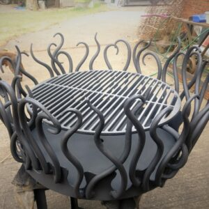Bex Simon Crown 60 Fire Pit with Grille