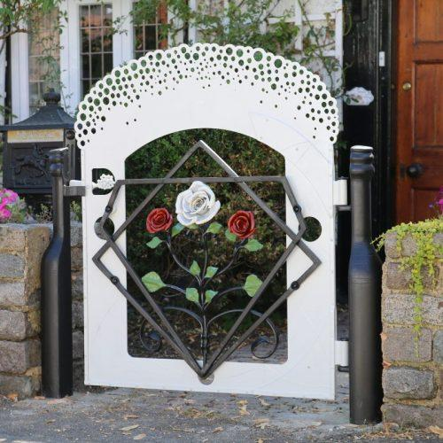 The Champagne and Roses Gate