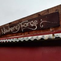 The Nowhere Forge Sign